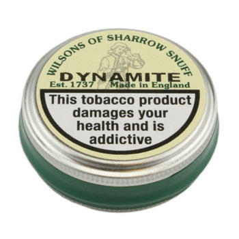 Tin of Wilson's dynamite snuff