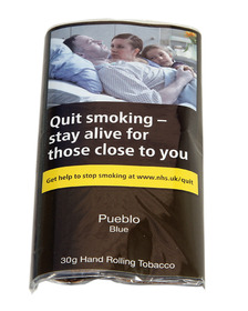 Pueblo Blue Additive Free Tobacco 30g