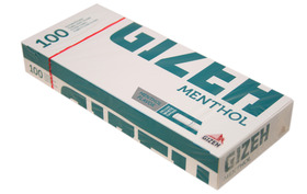 Gizeh Menthol KS Tubes - pack of 100