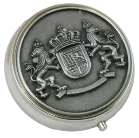 Pewter Plate Snuff Box