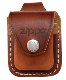 Zippo Dark Tan Pouch With Loop
