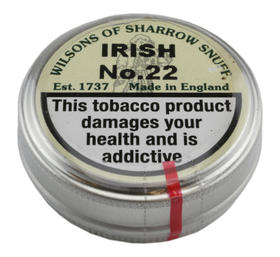 Sharrow Snuff, Irish No.22