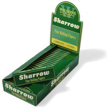Sharrow Green Fine Rolling Papers - box of 25 booklets