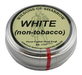 Sharrow Snuff, White (Non-Tobacco)