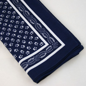 Snuff Handkerchief - Blue Pattern