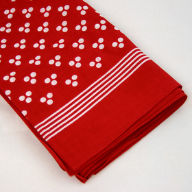 Snuff Handkerchief - Red Clover Leaf