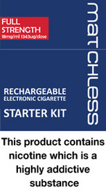 Matchless Rechargeable Starter Kit RED