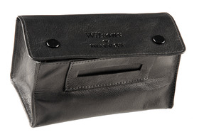 Sharrow Leather Button Tobacco Pouch with P/Slot ref:3503