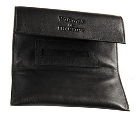 Sharrow Leather Fold Over Tobacco Pouch with P/Slot ref:3505