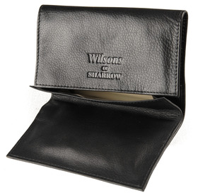 Sharrow Leather Fold Over Tobacco Pouch with P/Slot ref:3511