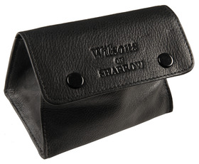 Sharrow Leather Button Tobacco Pouch with P/Slot ref:3512