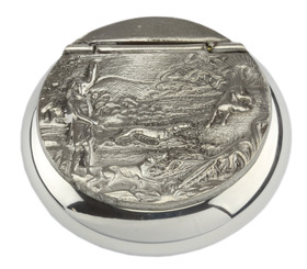 Pewter Snuff Box Tom Buck