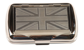 Tobacco Tin - Union Jack Design
