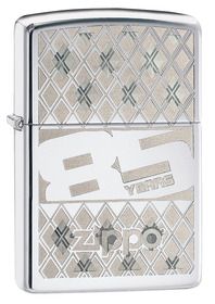 Zippo 29438 85th Anniversay, High Polish Chrome