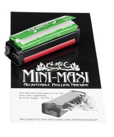 Mini Maxi Adjhustable Cigarette Roller
