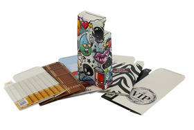 "Cigarette ""slip"" Cases - asstd  (6 pack) -  CLEARANCE PRICE"
