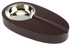 Cigar Ashtray Brown Oval