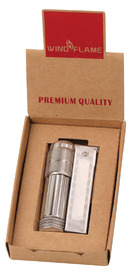 Windflame Petrol Lighter - Chrome