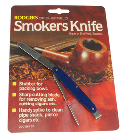 Rodgers Smokers Knives Blue Singly carded