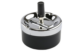 Spinner Ashtray 9.5cm Black