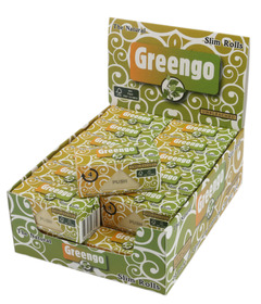 Greengo Unbleached Slim Rolls