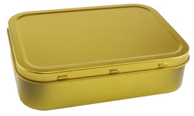 Plain Tobacco Tin 2oz