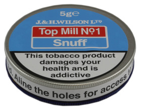 J & H Top Mill 5g Tin