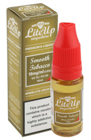 Lite-Up Liquid 10ml bottles - Smooth Tobacco