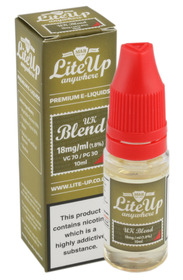 Lite-Up Liquid 10ml bottles - UK Blend