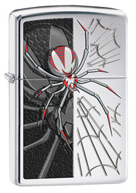 Zippo 28795 Spider, High Polished Chrome