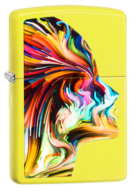 Zippo 29083  Colourful Head, Neon Yellow