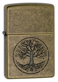 Zippo 29149 Tree Of Life, Antique Brass