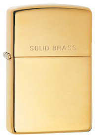 Zippo 254 High Polished Brass