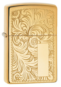 Zippo 352B Venetian High Polished Brass