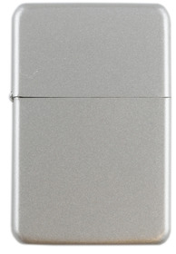 Cool Windproof Petrol Lighter Asstd Chrome Gift Boxed