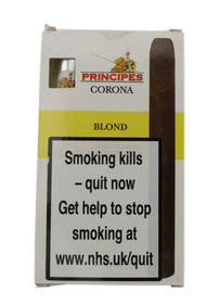 Principes Corona Cigars - Blond (Pack Of 5)