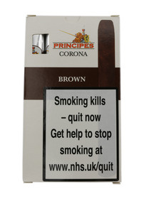 Principes Corona Cigars - Brown (Pack Of 5)