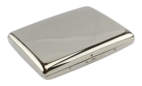 Superking Polished Chrome Cigarette Case