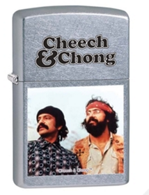 Zippo 28474 Cheech and Chong. Street Chrome