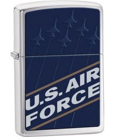 Zippo 24827 US Air Force, Brushed Chrome
