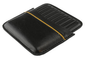 Cigarillo Case Leather for 10 Cigarillos Black