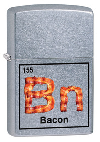 Zippo 29070 Bacon Element, Street Chrome