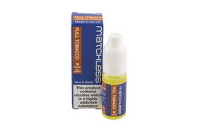 Matchless E-Liquids Full Tobacco Flavour 18mg