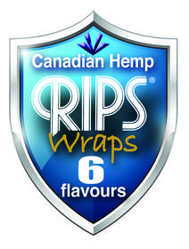 Rips Wraps - Tobacco Free Hemp Wraps 6 assorted Flavours (Pack of 4)