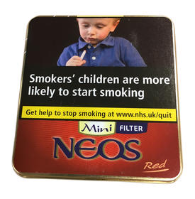 Neos Feelings Mini Red Cigars Tin of 10