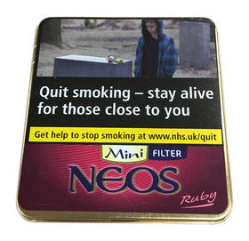 Neos Feelings Mini Ruby Cigars Tin of 10