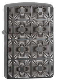 Zippo 29665 Armor, Decorative Pattern Design, HP Black Ice