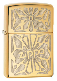 Zippo 28450 Ornament Polished Brass