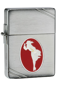 Zippo 28729 1935 Replica, Windy Collectible (2013), Brushed Chrome
