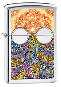 Zippo 28871 BOHO 2, High Polished Chrome